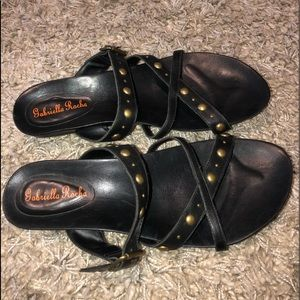 Gabriella Rocha Studded Sandals